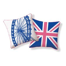 <strong>Naked Decor</strong> London Ferris Wheel Pillow
