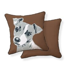 <strong>Naked Decor</strong> Jack Russell Pillow