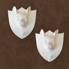 Boston Terrier Plaque Wall Décor (Set of 2)