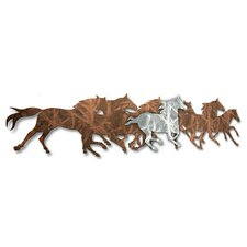 Wild Horses Wall Décor