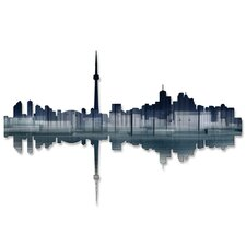 <strong>All My Walls</strong> Toronto Reflection Wall Décor