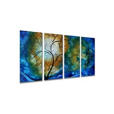 "<strong>All My Walls</strong> Deep Sky by Megan Duncanson, Abstract Wall Art - 23.5"" x 48"""