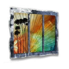 "<strong>All My Walls</strong> Summer Palms by Megan Duncanson, Abstract Wall Art - 29"" x 31.5"""