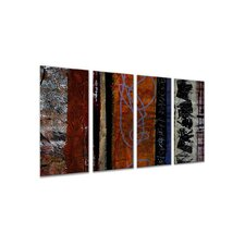 "<strong>All My Walls</strong> Eclectic by Ruth Palmer, Abstract Wall Art - 23.5"" x 48"""