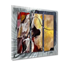 "<strong>All My Walls</strong> Move Along by Ruth Palmer, Abstract Wall Art - 29"" x 31.5"""