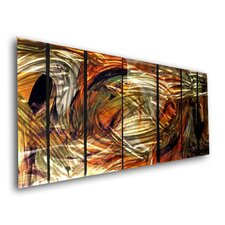 "Abstract by Ash Carl Holographic Wall Art - 23.5"" x 60"""