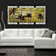 "<strong>All My Walls</strong> A Warm Afternoon Contemporary Wall Art - 32"" x 62.5"""