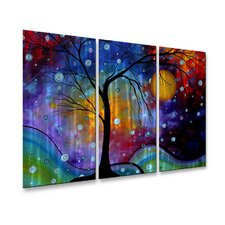Winter Sparkle Metal Wall Art