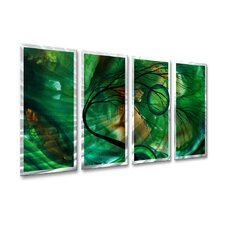 <strong>All My Walls</strong> Emerald Glow Wall Decor
