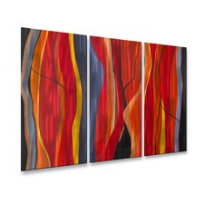 Twisted Lines Wall Sculpture