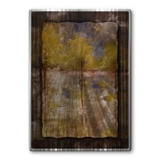 Tall Tier Texture Metal Wall Art