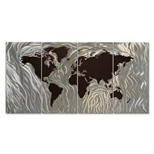 <strong>All My Walls</strong> Mapped Out III Metal Wall Art