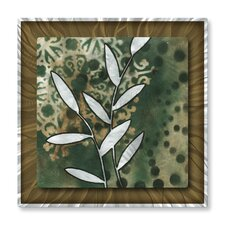 'Natures Whimsy V' by Megan Duncanso Original Painting on Metal Plaque