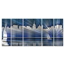 <strong>All My Walls</strong> New York City Skyline Wall Sculpture