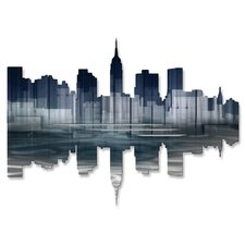 New York City Reflection II Wall Art