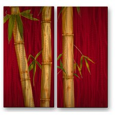 <strong>All My Walls</strong> Bamboo I and II Metal Art