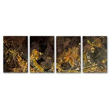<strong>All My Walls</strong> Golden Touch Metal Wall Art
