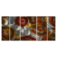 Cosmic Cluster II Metal Wall Decor