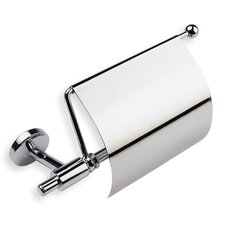 Pegaso Wall Mounted Toilet Roll Holder with Cover