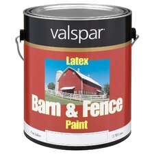 1 Gallon Red Exterior Barn & Fence Latex Paint