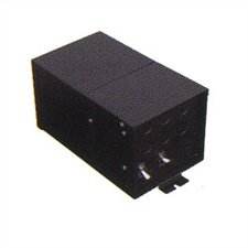 Fusion Monorail 600W Remote Magnetic Transformer with Black Metal Housing - Multiple Voltage Options