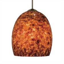 <strong>LBL Lighting</strong> Lava II 1 Light Mini Pendant