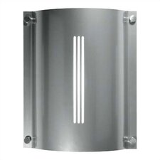 <strong>LBL Lighting</strong> Stingray Saturn 2 Light Outdoor Fluorescent Wall Sconce