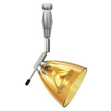 Mini-Dome I Swivel I Head  1 Light 2 Circuit Monorail Light