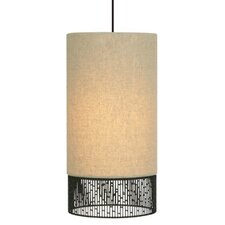 <strong>LBL Lighting</strong> Hollywood 1 Light Long Drum Pendant