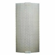 <strong>LBL Lighting</strong> Omni 1 Light Medium Outdoor Fluorescent Wall Sconce