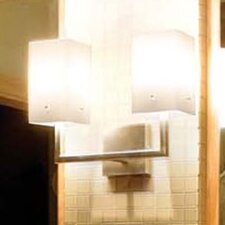 <strong>LBL Lighting</strong> Casino 2 Light Bath Vanity Light