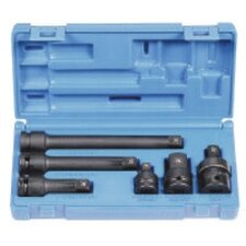 "6 Pc 1/2"" Dr Adapter & Extension Set"