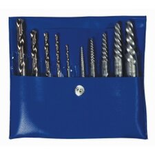 Extractor Spiral Set 10Pc Screw&Cobalt Drill Bit