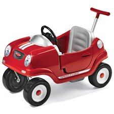 <strong>Radio Flyer</strong> Steer & Stroll Coupe Push Car