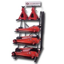 Professional Duty Floor Jack Display W/2Ea