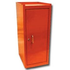 Side Half Locker W/Shelf Orange
