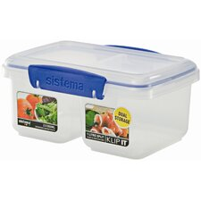 <strong>Sistema USA</strong> 31 Oz. Klip It Split Food Container