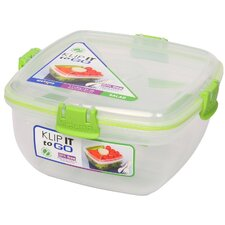 Klip It 37-Oz. Salad To Go Food Storage Container