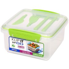 <strong>Sistema USA</strong> Klip It Lunch Plus To Go Container