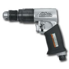 Air Drill Reversible 3/8 Inch W/Rubber Handle Grip