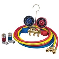 Gauge Set A/C 72 134A Hose And Couplers