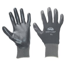 Gloves Nitrile Coated Xxlg Black 1Pr