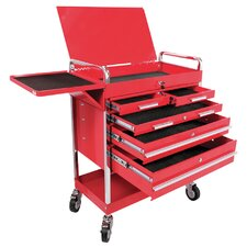 "Professional Duty 19.7"" Wide 5 Drawer Service Cart"