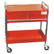 <strong>Sunex</strong> Service Cart W/Locking Top & Drawer Red