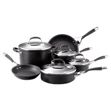 Elite Aluminum 10 Piece Cookware Set
