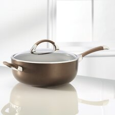 Symmetry 6.5-qt. Chef's Saute Pan with Lid