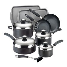 Total Hard Anodized Nonstick 13 Piece Cookware Set
