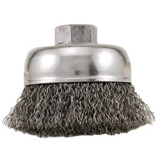 "3"" Industrial Cup Wire Brush  16831"