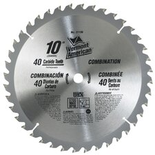"10"" 40 TPI Trade Duty™ Series Carbide Tipped Circular Saw Blade"