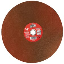 "14"" High Performance Abrasive Wheels For Cutting Steel  28045"